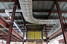 Internal ducting and sub-frame elements