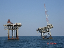 Crooked Oil Platform