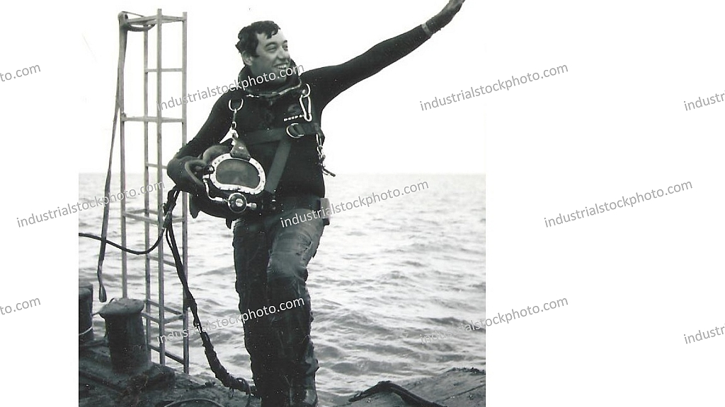 Nick Daly, Oilfield Diver