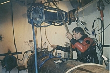 Subsea habitat welder